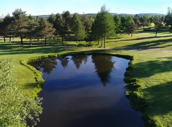 Terrain de golf du club Golf Ste Flore