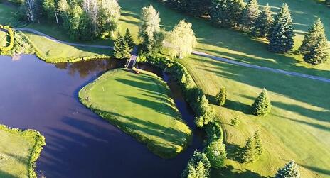 Bienvenue au club Golf Ste Flore